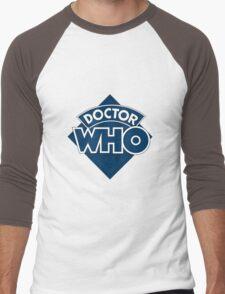 retro doctor who logo Men's Baseball ¾ T-Shirt