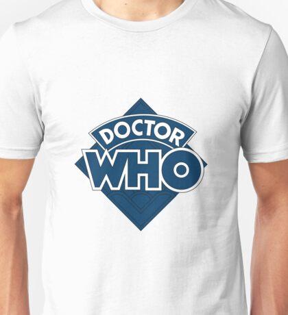 retro doctor who logo Unisex T-Shirt