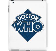 retro doctor who logo iPad Case/Skin