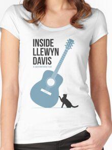 Inside Llewyn Davis film poster Women's Fitted Scoop T-Shirt