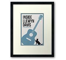 Inside Llewyn Davis film poster Framed Print