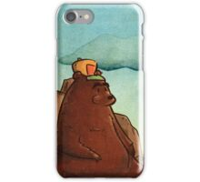 Bear with cap iPhone Case/Skin