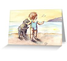 Sally and Spike Greeting Card