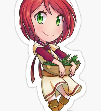 Shirayuki Sticker