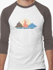The Magic Mountain Range Men's Baseball ¾ T-Shirt