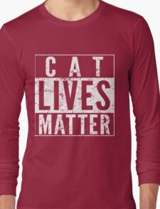 Cat Lives Matter Long Sleeve T-Shirt