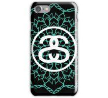 Stussy Mandala Turquoise iPhone Case/Skin
