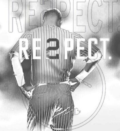 derek Jeter Respect 2 Sticker