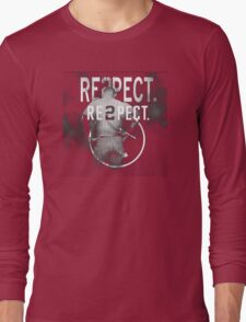 derek Jeter Respect 2 Long Sleeve T-Shirt