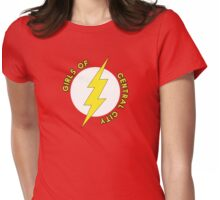 Girls of Central City Womens Fitted T-Shirt