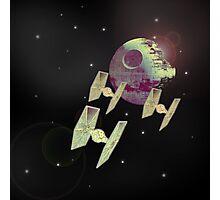 space battle Photographic Print