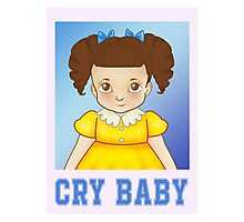 Cry Baby's First Day of School Photographic Print