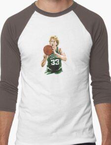 larry__legend__bird_ Men's Baseball ¾ T-Shirt