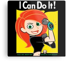 I Can Do It! Whats the Sitch? Metal Print
