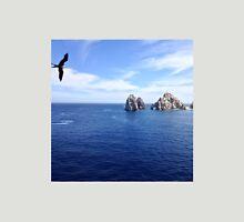 Bird flies over Cabo San Lucas, Mexico Unisex T-Shirt