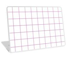 Official Barbie Pink - grid Laptop Skin