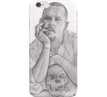 Alexander McQueen Savage Beauty Drawing iPhone Case/Skin