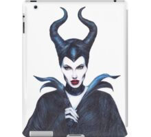 Maleficent drawing iPad Case/Skin