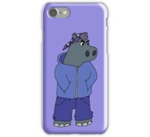 Hippocrip - Without Font iPhone Case/Skin