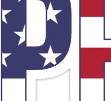 gphi stars stripes Sticker