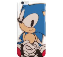 Sitting Sonic iPhone Case/Skin
