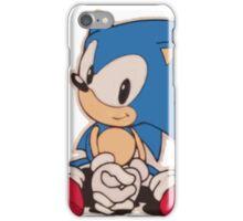 Sitting Sonic iPhone Case/Skin