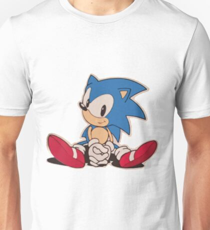 Sitting Sonic Unisex T-Shirt