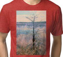 Shark Valley Cypress Tri-blend T-Shirt