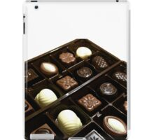 Assorted chocolate candy for dessert iPad Case/Skin