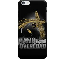 Tower Crane Incident iPhone Case/Skin