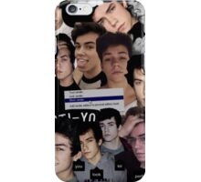 Wes Tucker Collage iPhone Case/Skin