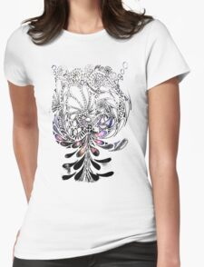 Bottle Brush Womens Fitted T-Shirt