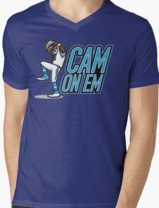 cam on em Mens V-Neck T-Shirt