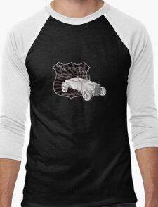 Rykers Hot Rod Garage Men's Baseball ¾ T-Shirt