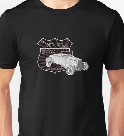 Rykers Hot Rod Garage Unisex T-Shirt