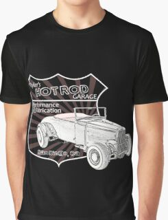 Rykers Hot Rod Garage Graphic T-Shirt