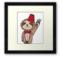The Eleventh Sloth Framed Print