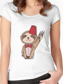 The Eleventh Sloth Women's Fitted Scoop T-Shirt