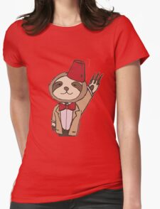 The Eleventh Sloth Womens Fitted T-Shirt