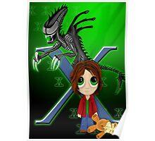 X Xenomorph Poster