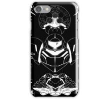 The Bounty Hunter - White Ink iPhone Case/Skin