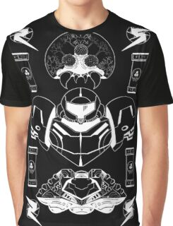 The Bounty Hunter - White Ink Graphic T-Shirt