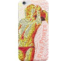 Dance to the beat of the livin dead iPhone Case/Skin