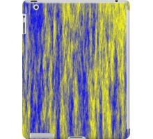 Electric Fur - Yellow & Blue iPad Case/Skin