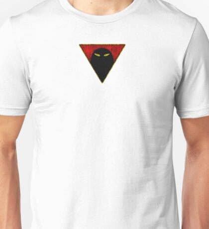 Space Ghost - Chest Symbol - White Dirty Unisex T-Shirt