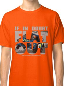 Collin McRae Tribute Flat Out Classic T-Shirt