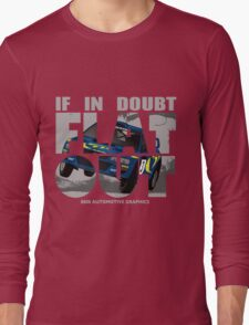 Collin McRae Tribute Flat Out Long Sleeve T-Shirt