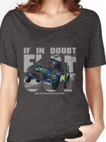 Collin McRae Tribute Flat Out Women's Relaxed Fit T-Shirt