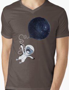 Penguin fly Mens V-Neck T-Shirt