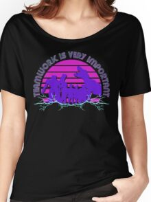 Kung Fury - Teamwork is Very Important! Women's Relaxed Fit T-Shirt
